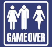 Game over getting married Bachelor Party by LaundryFactory