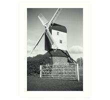 Mountnessing Windmill Art Print