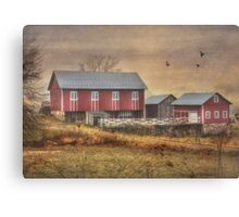 Route 419 Barn Canvas Print