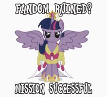 Evil Twilight Sparkle - End of Brony Baby Tee