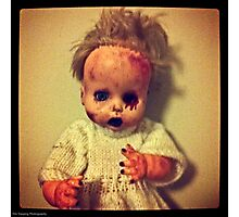 Zombie Doll Photographic Print