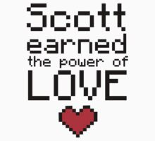 Scott earned the power of love by Katayanagi
