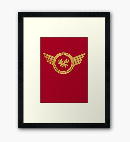 Air Tails Helicopter Tours Framed Print