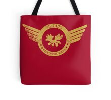 Air Tails Helicopter Tours Tote Bag