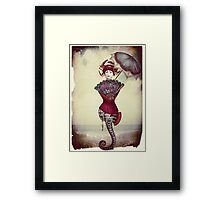 The Tail Framed Print