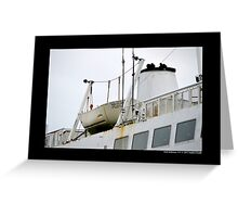 Park City Ferry Lifeboat - Port Jefferson, New York Greeting Card