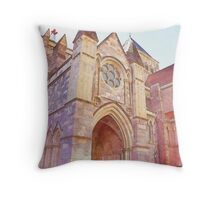 Faith In Him (Watercolor) Throw Pillow