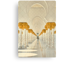 Tranquility of the Colonnade Canvas Print