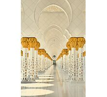 Tranquility of the Colonnade Photographic Print