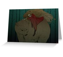 White Bear King Valemon Greeting Card