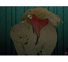 White Bear King Valemon Photographic Print
