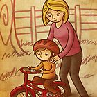 With some help from mom by Ine Spee