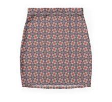 S-5057-T - Pattern Tile Mini Skirt