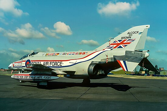 """Alcock & Brown"" F-4M Phantom FGR.2 XV486 by Colin Smedley"