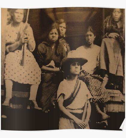 Female Revolutionaries Poster