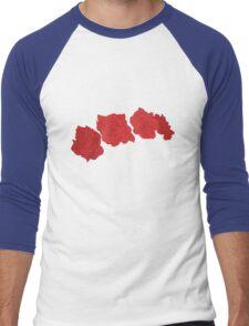 Flowers In Their Hair Men's Baseball ¾ T-Shirt