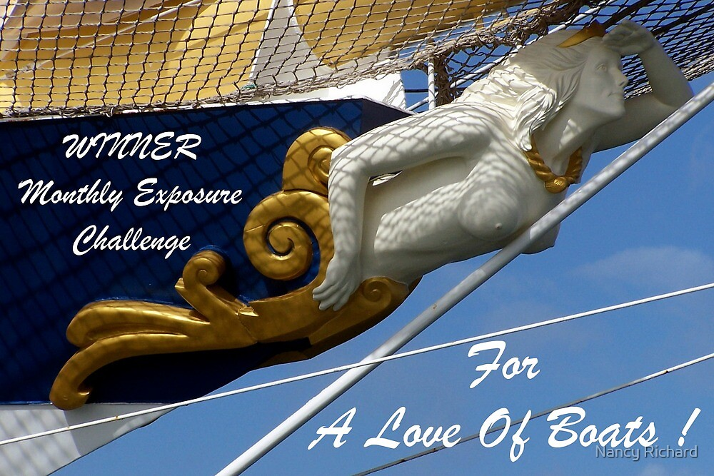 For a Love Of Boats/banner by Nancy Richard