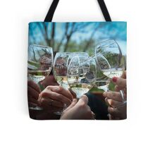 Wine Tasting with Friends Tote Bag