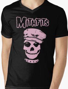 Mithfits Mens V-Neck T-Shirt
