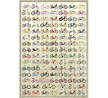 Bikes Photographic Print