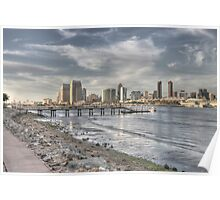 Downtown San Diego View Poster
