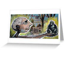 Grave New World (brainstemming.com) Greeting Card
