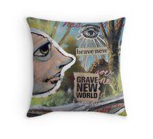 Grave New World (brainstemming.com) Throw Pillow