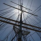 Tall Ship Rigging by DaveKoontz