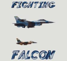Flight of F-16 Fighting Falcons by flyoff