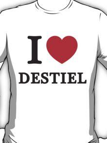 I Heart Destiel (Red Heart) T-Shirt