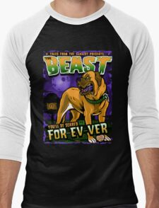 The Beast Men's Baseball ¾ T-Shirt
