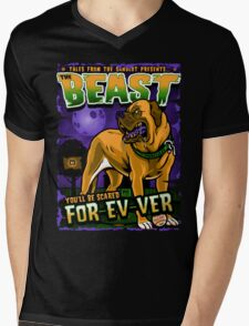 The Beast Mens V-Neck T-Shirt