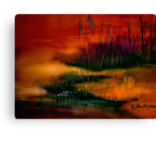 A Sudden Softness.. Canvas Print
