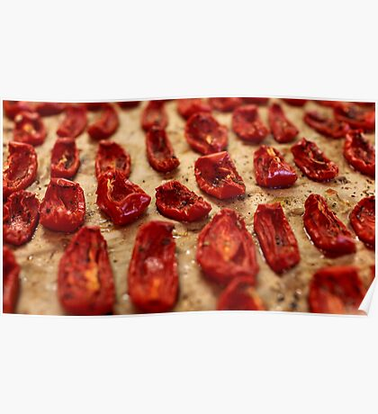 dried tomatoes Poster