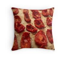 dried tomatoes Throw Pillow