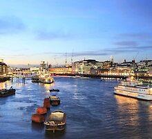 London @ Dusk. by Rob73