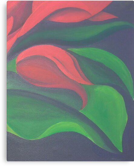 Red Tulip Diptych (Right) by taiche