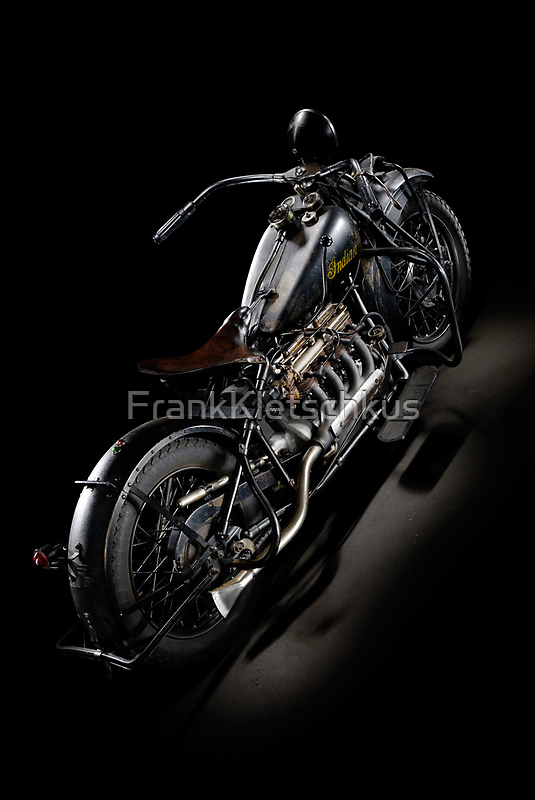 Black Indian Four by Frank Kletschkus