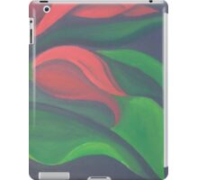 Red Tulip Diptych (Right) iPad Case/Skin