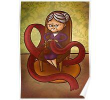 Knitting Poster