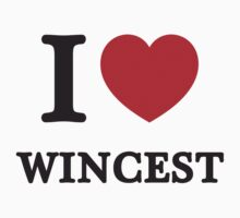 I Love Wincest ( Red Heart ) by HarmonyByDesign