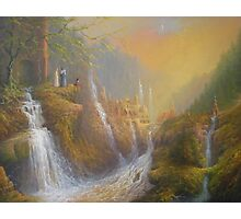Rivendell.( Wisdom Of The Elves Photographic Print