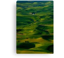 Palouse Green Canvas Print