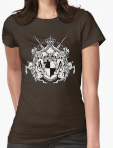 Jackalope Heraldry Womens Fitted T-Shirt