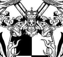 Jackalope Heraldry Sticker