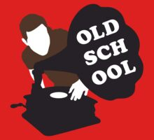 Old School DJ Kids Tee