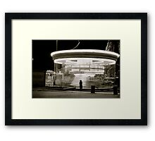 Parisian Carousel Framed Print