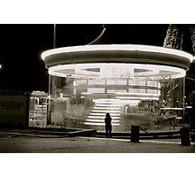 Parisian Carousel Photographic Print