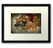 Beer Wagon Framed Print