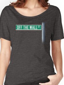Off The Wall Street Women's Relaxed Fit T-Shirt